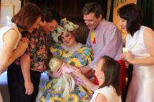 Baby Rapunzel and the Family