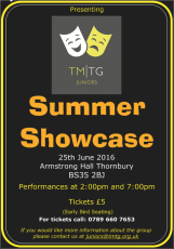 Juniors Summer Showcase 2016 Poster