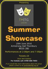 Juniors Summer Showcase 2016 Poster