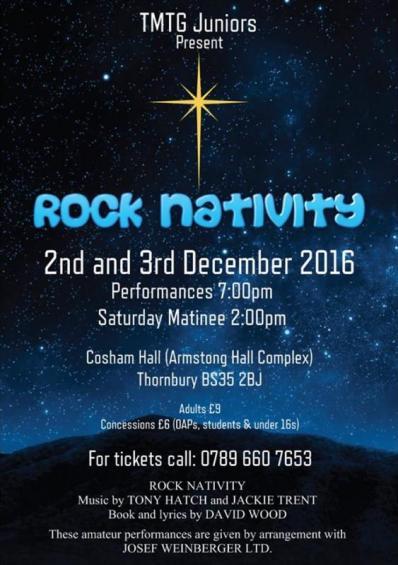 Rock Nativity Poster