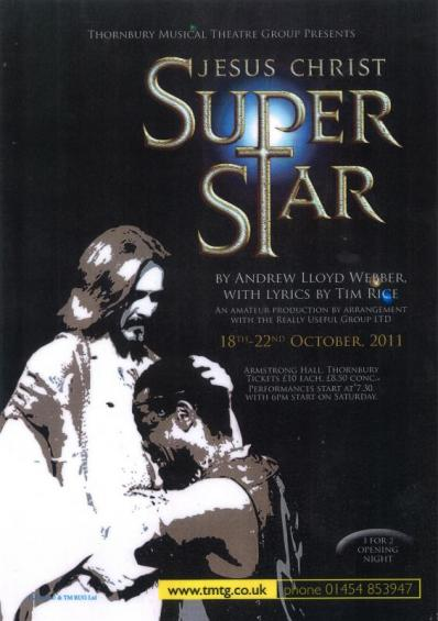 Jesus Christ Super Star Poster