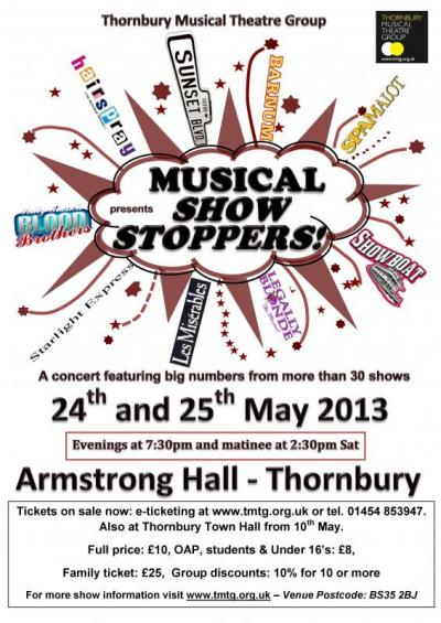 Musical Show Stoppers Poster