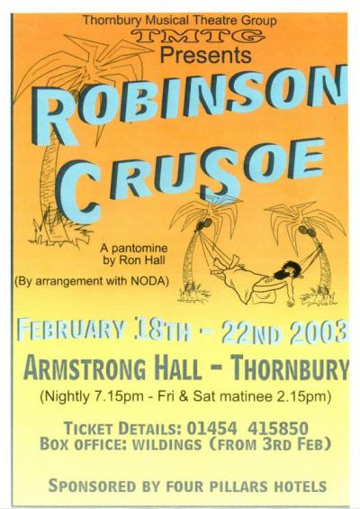 Robinson Crusoe 2003 Poster