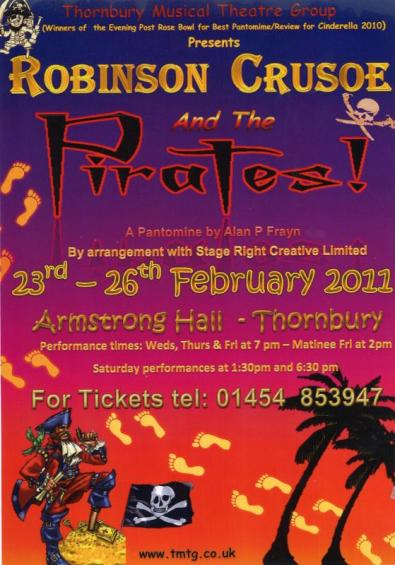 Robinson Crusoe and the Pirates Poster