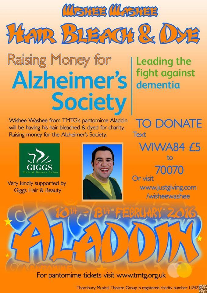 Fundraising Poster - Dave