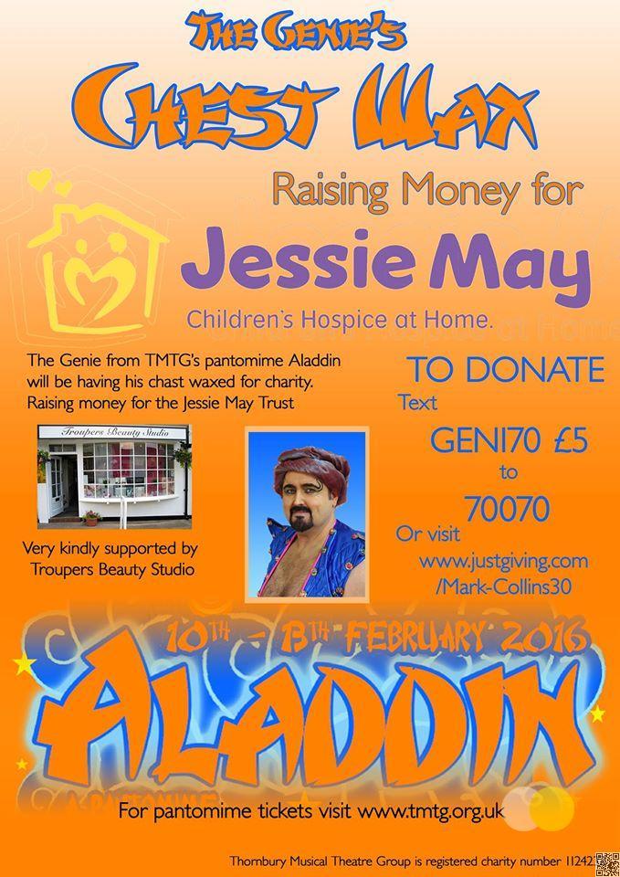 Fundraising Poster - Mark