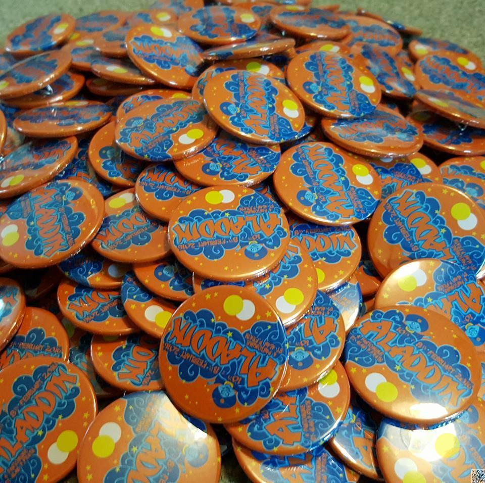 Aladdin Badges