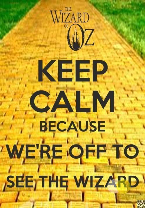 Wizard of Oz Keep Calm