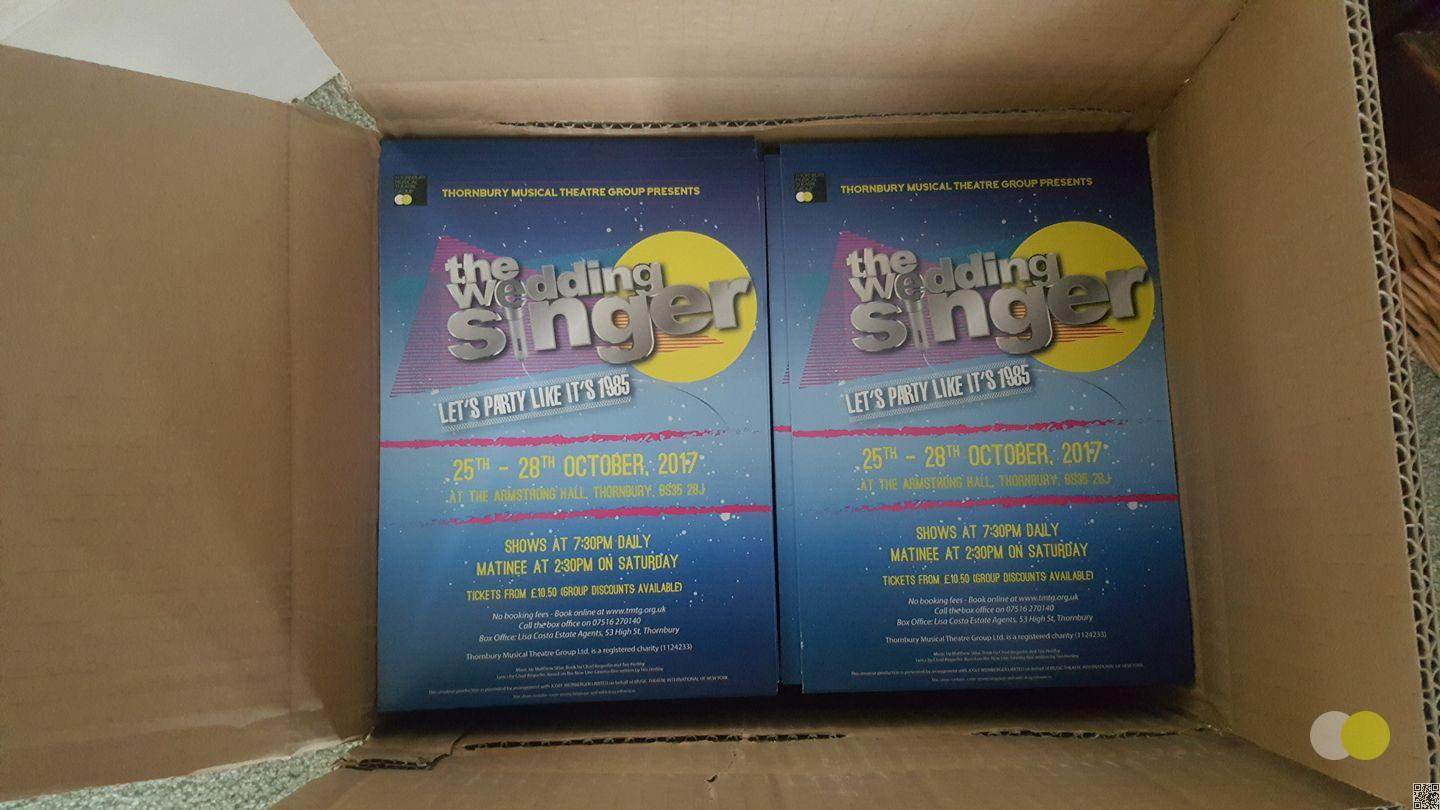 Wedding Singer Posters And Flyers